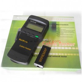 Cable Tester Digital SC8108