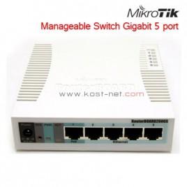 Switch Mikrotik RB260GS