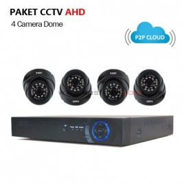 Paket CCTV  AHD 1.3MP (4 Camera  G-Lenz)
