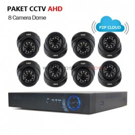 Paket CCTV AHD 1.3MP (8 Camera  G-Lenz)