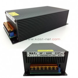 Power Suply Central 24V 20A Hitam