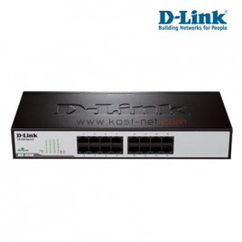 Switch D-Link 16 Port Metal DES-1016D