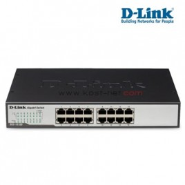 16 Port Gigabit D-Link DGS-1016D