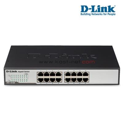 Switch D-LINK DGS-10016D