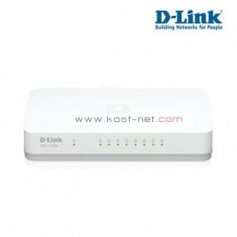 8 Port Gigabit D-Link DGS-1008