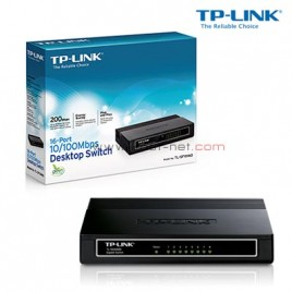 Switch TP-Link 16Port TL-SF1016D