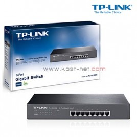 8 Port Gigabit TP-Link TL-SG1008