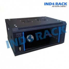 Wallmount Rack 6U 450mm – Indorack WIR4506S