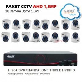 Paket CCTV G-LENZ AHD 16 (Sony Exmor 16)