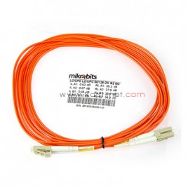 Mikrobits Patch Cable Multimode LC-LC Duplex 5M