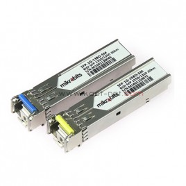 Mikrobits SFP Bidirectional Pair Transceiver SFP-1G-BD-SM